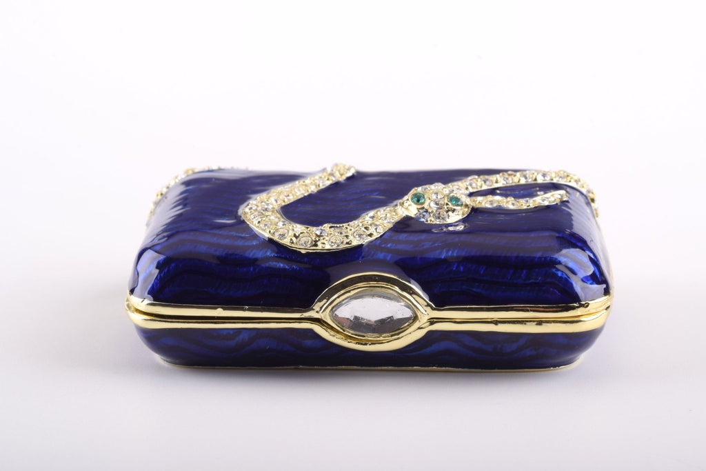 Keren Kopal Blue Box with Snake  56.50