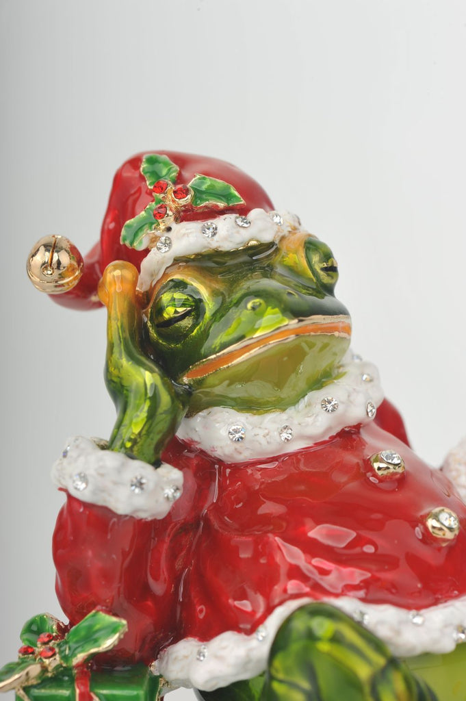 Keren Kopal Christmas Frog with Presents  101.25