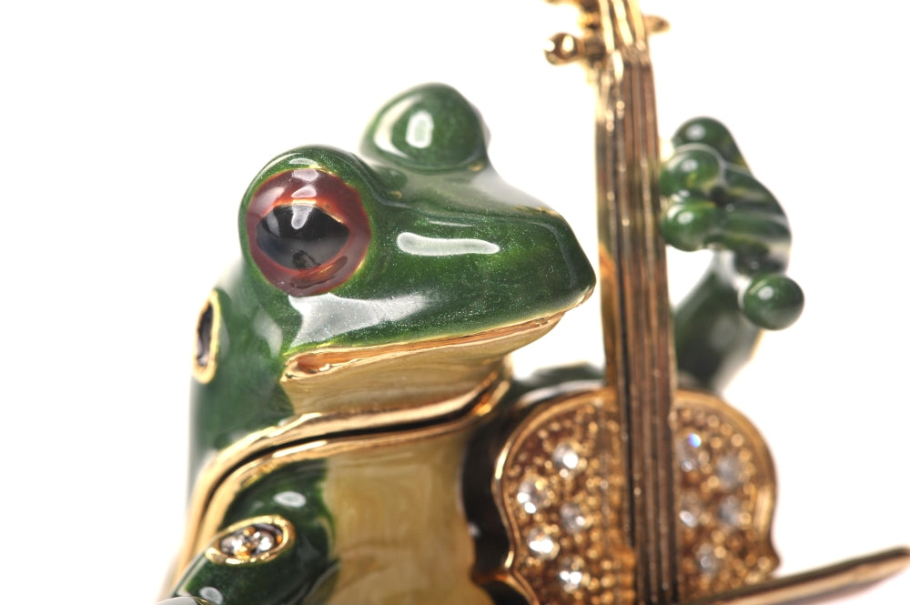 Frog Playing Chello