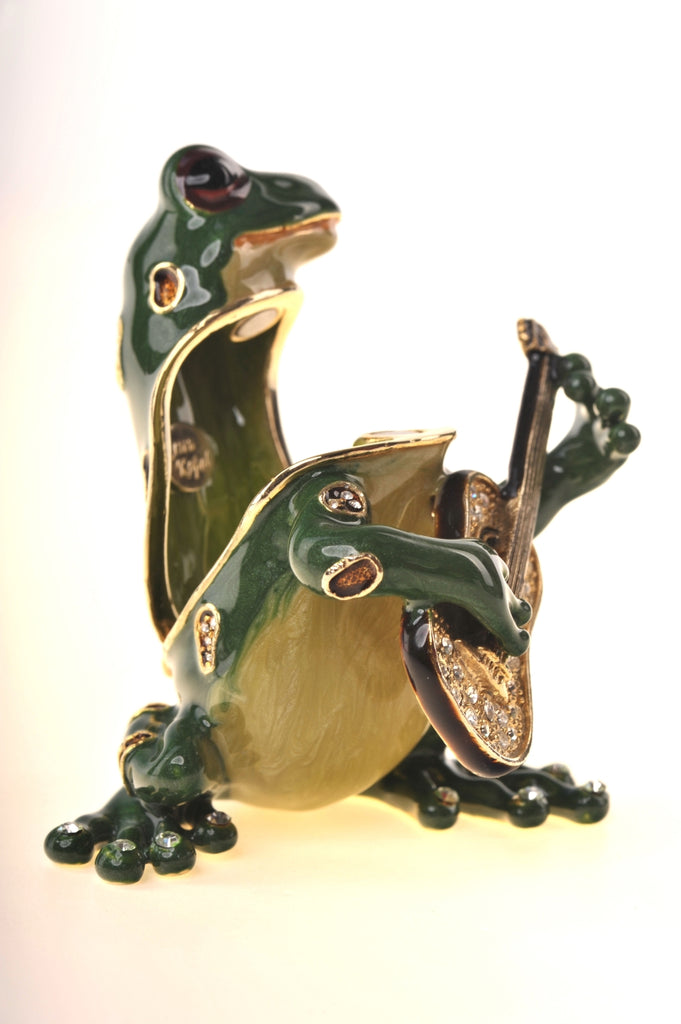 Guitar Playing Frog