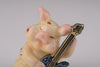 Pig Playing Guitar