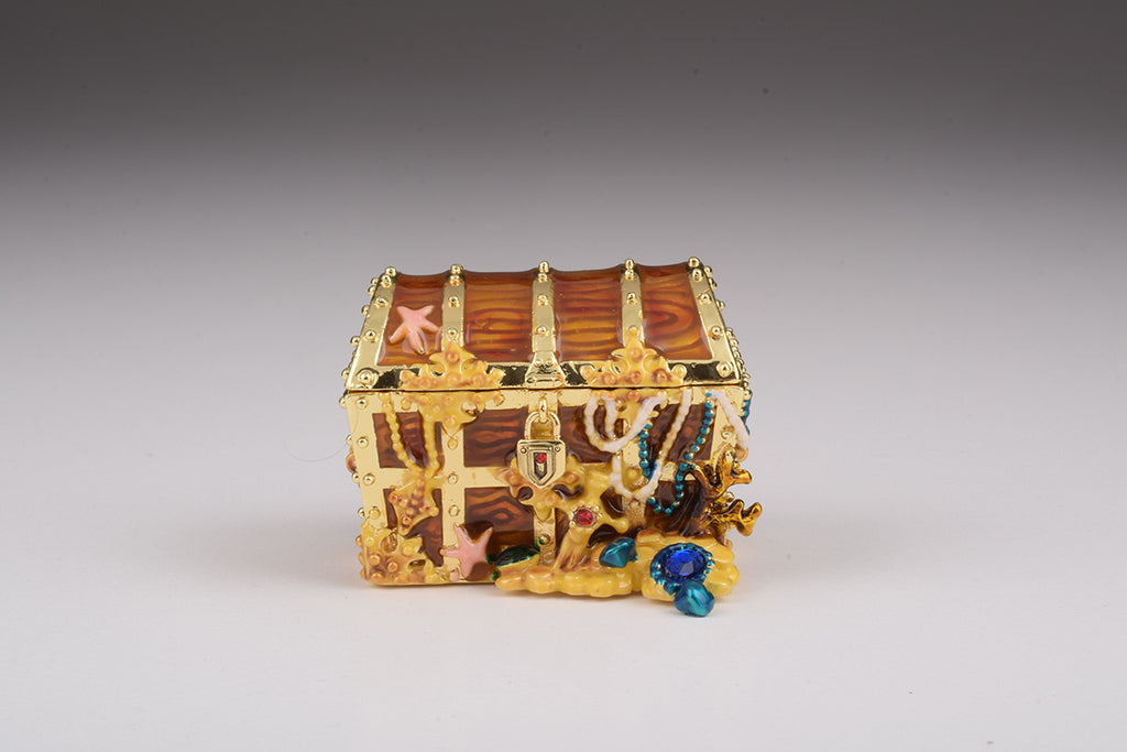 Treasure Box with Pearls Inside