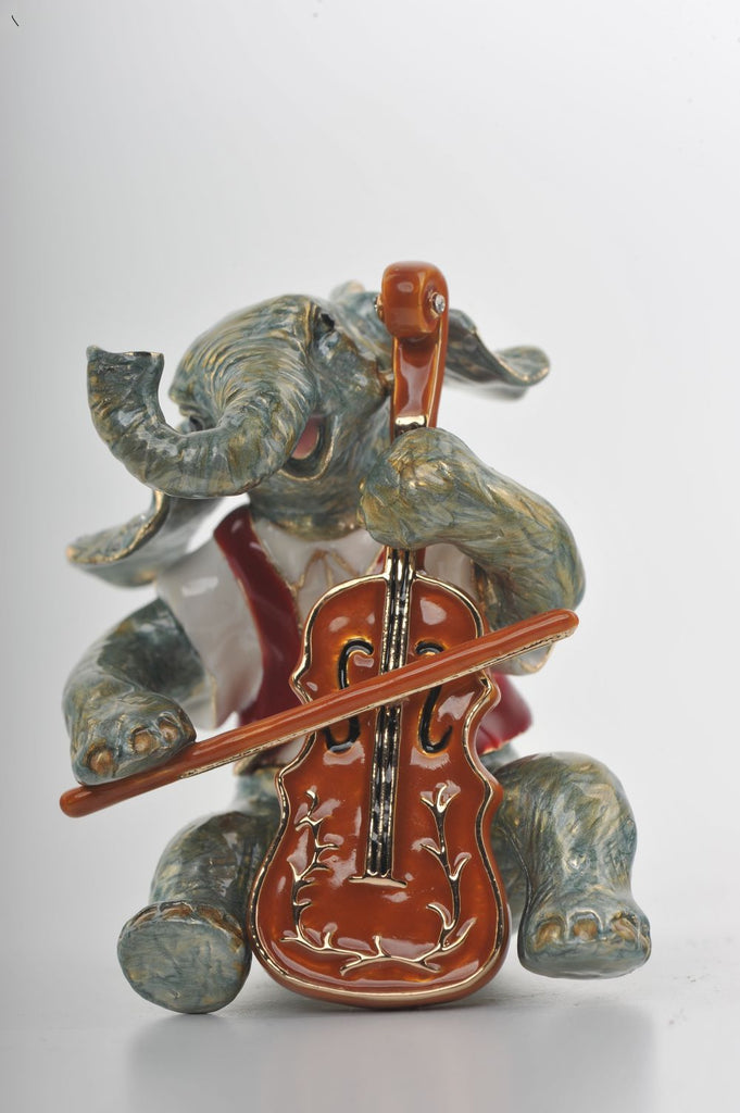 Keren Kopal Elephant Playing the Cello  83.50