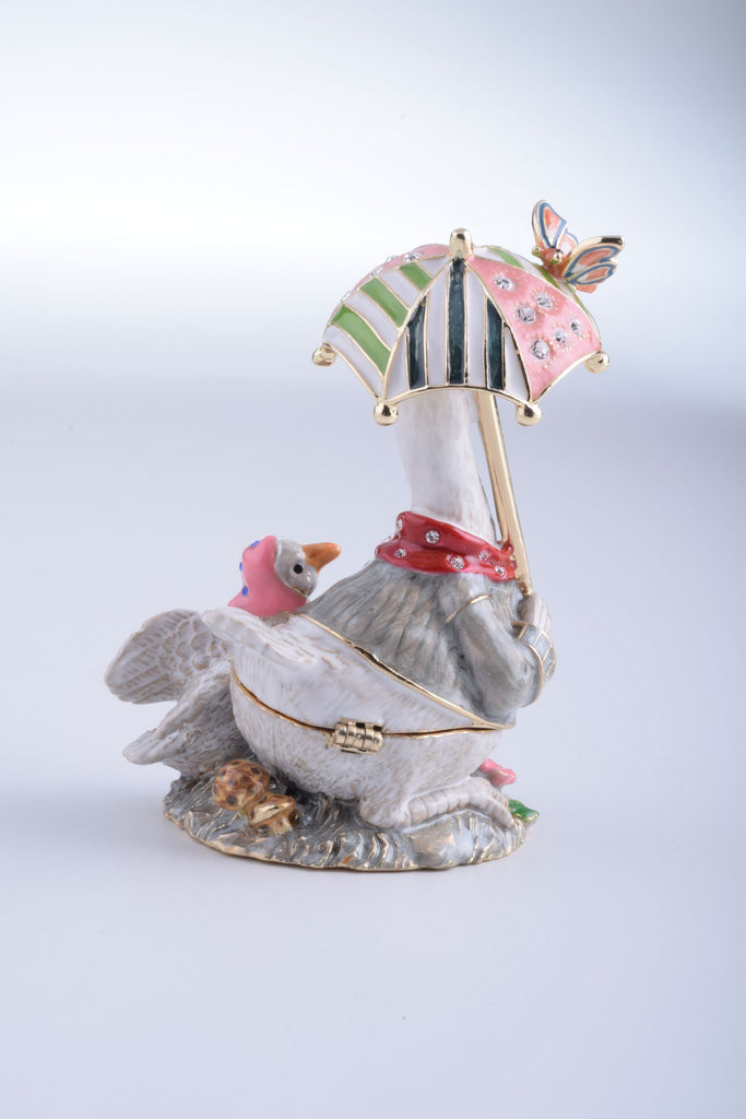 Keren Kopal Goose with Umbrella  77.00
