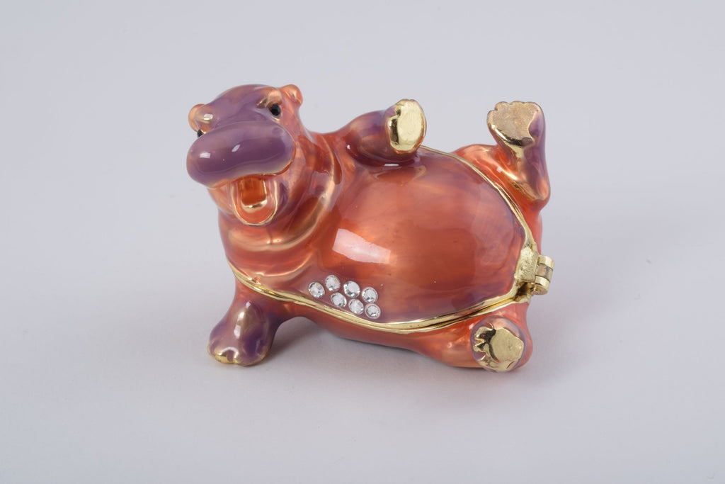 Keren Kopal Happy Hippo Laying on His Back  41.50