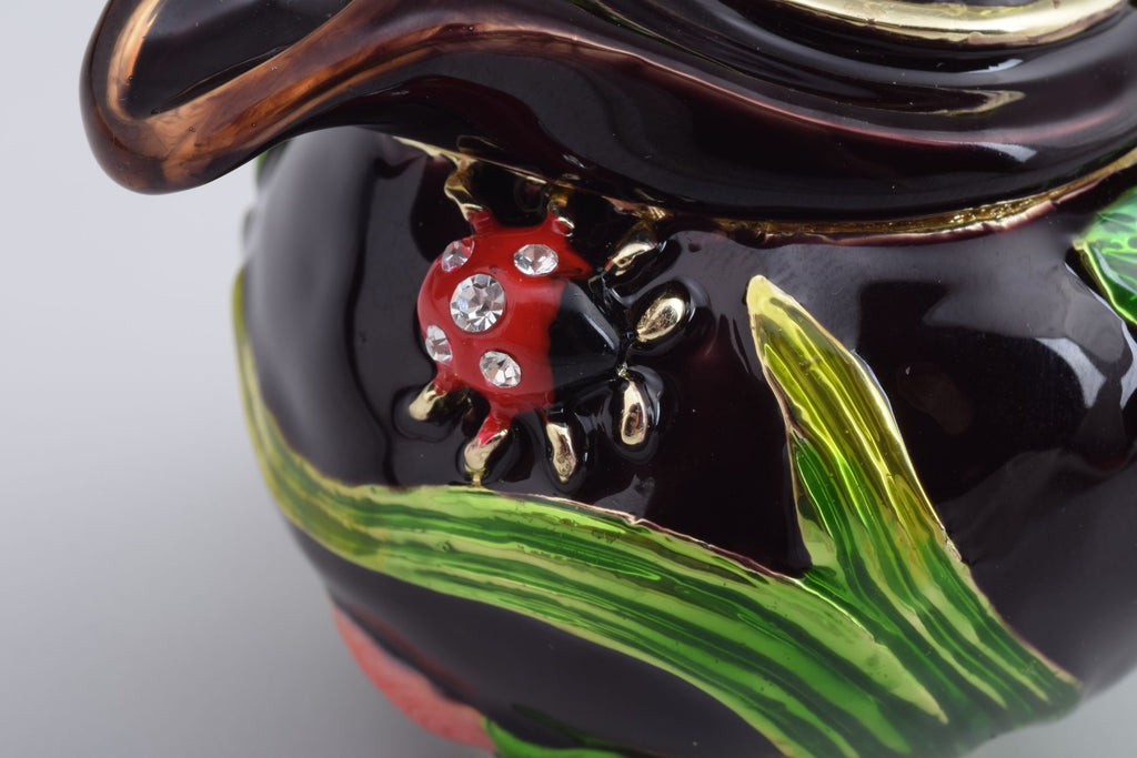 Keren Kopal Teapot Decorated with a Ladybug and a Dragonfly  57.75