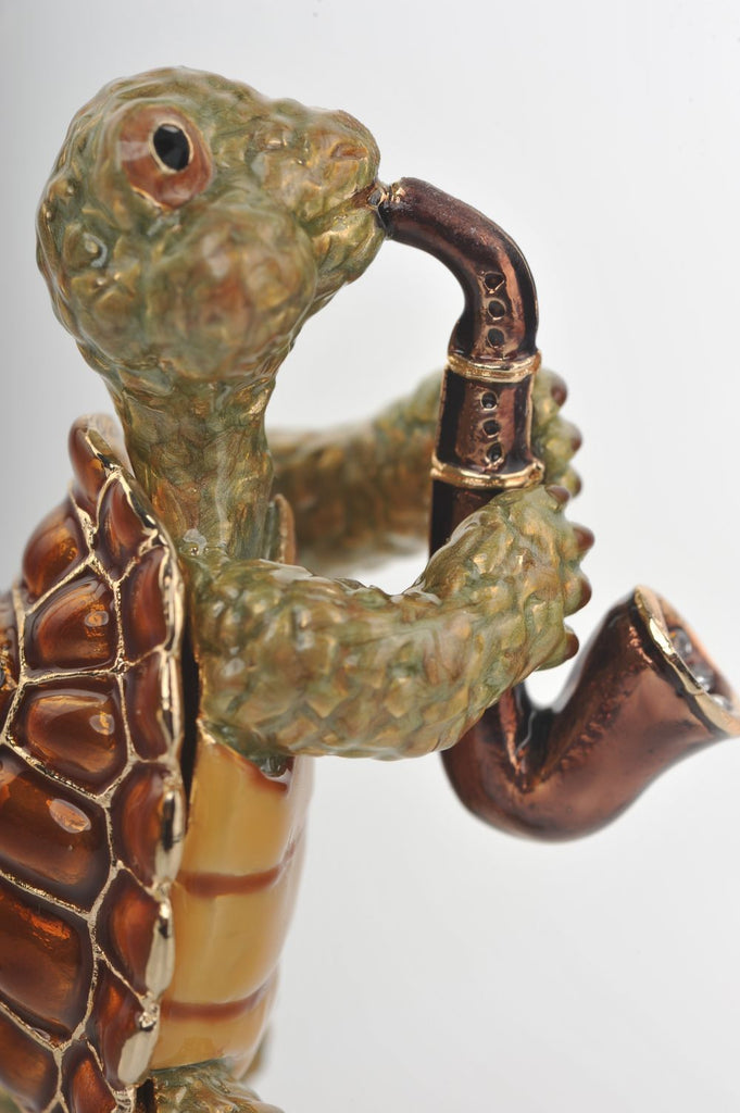 Keren Kopal Turtle Playing the Saxophone  78.75