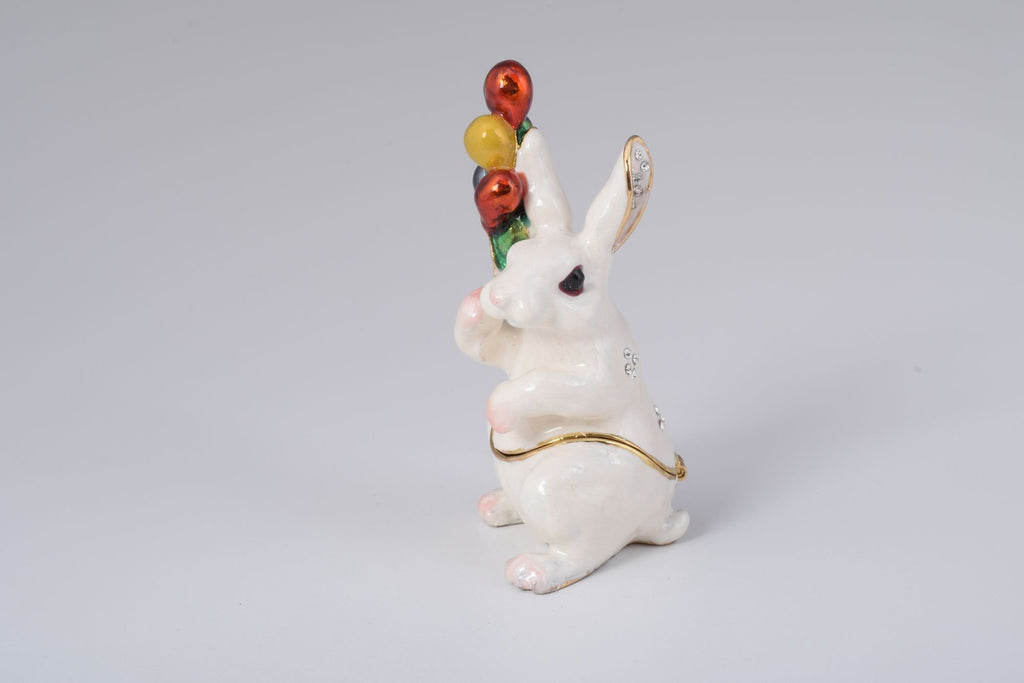 Keren Kopal White Rabbit with Colorful Baloons  66.25