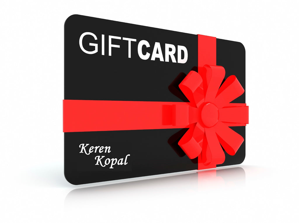 Keren Kopal Gift Card collectors club only