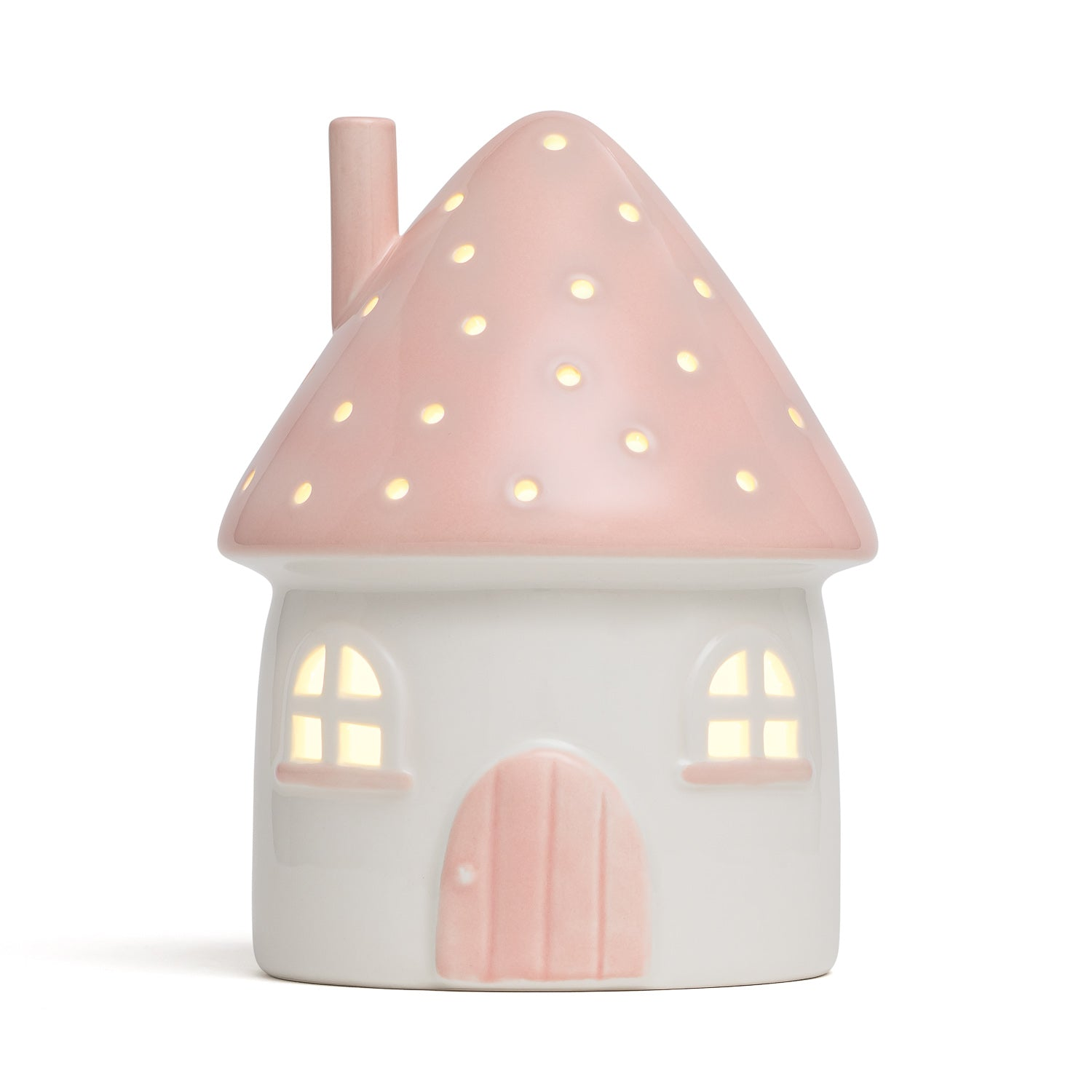 Elfin House Nightlight Pink