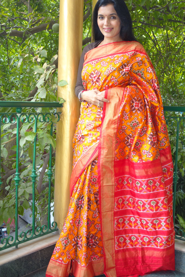 Puttapaka ponchampally saree from Sohum Sutras