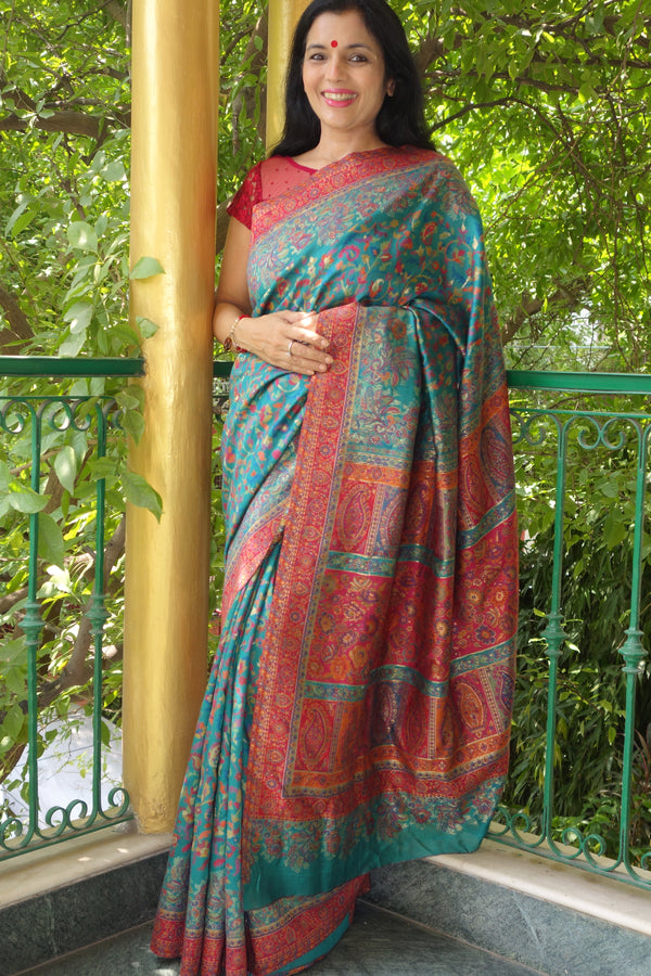 Kani saree from Sohum Sutras