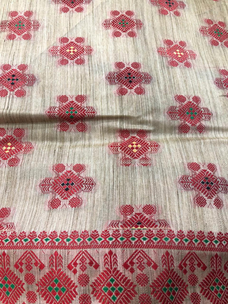 Assam silk saree - Assam Collection - sohum sutras