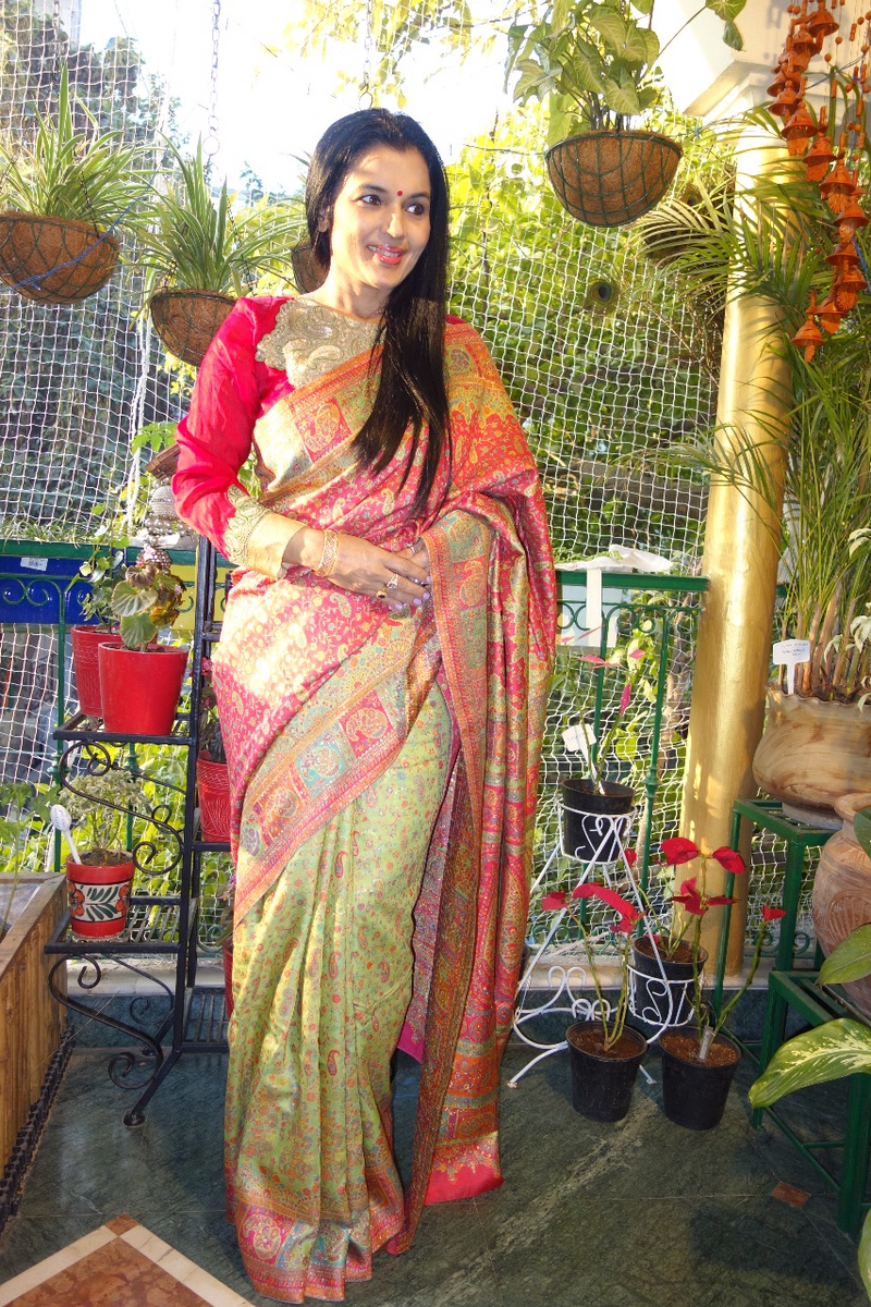 Silk Kani Saree
