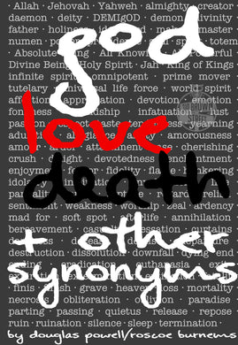 god, love, death & other synonyms