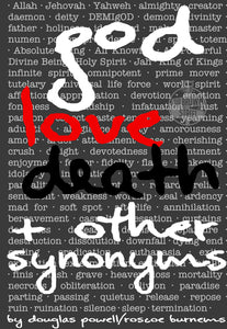 god, love, death & other synonyms (PRE-ORDER)