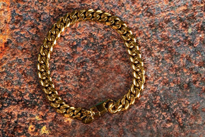 Pendant - Cuban Bracelet (Gold) 8mm