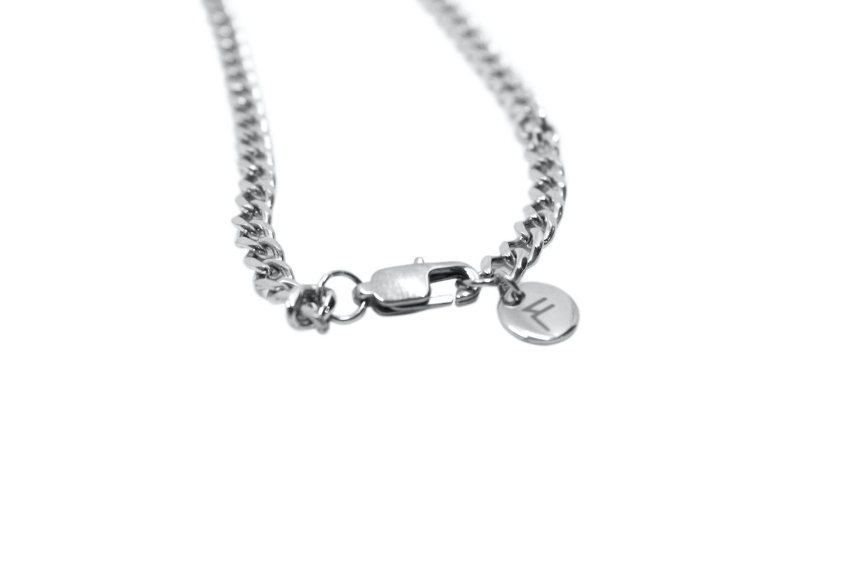 Pendant - Cuban Chain (Silver) 4mm