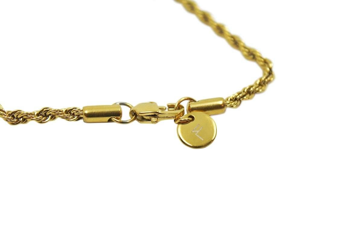 Pendant - Rope Chain (Gold) 3mm