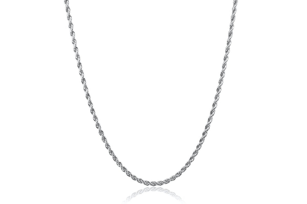 Pendant - Rope Chain (Silver) 3mm