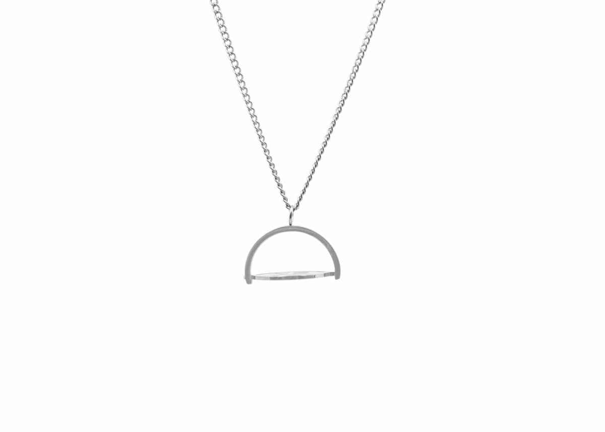 Pendant - Spinning Disc Pendant (Silver)