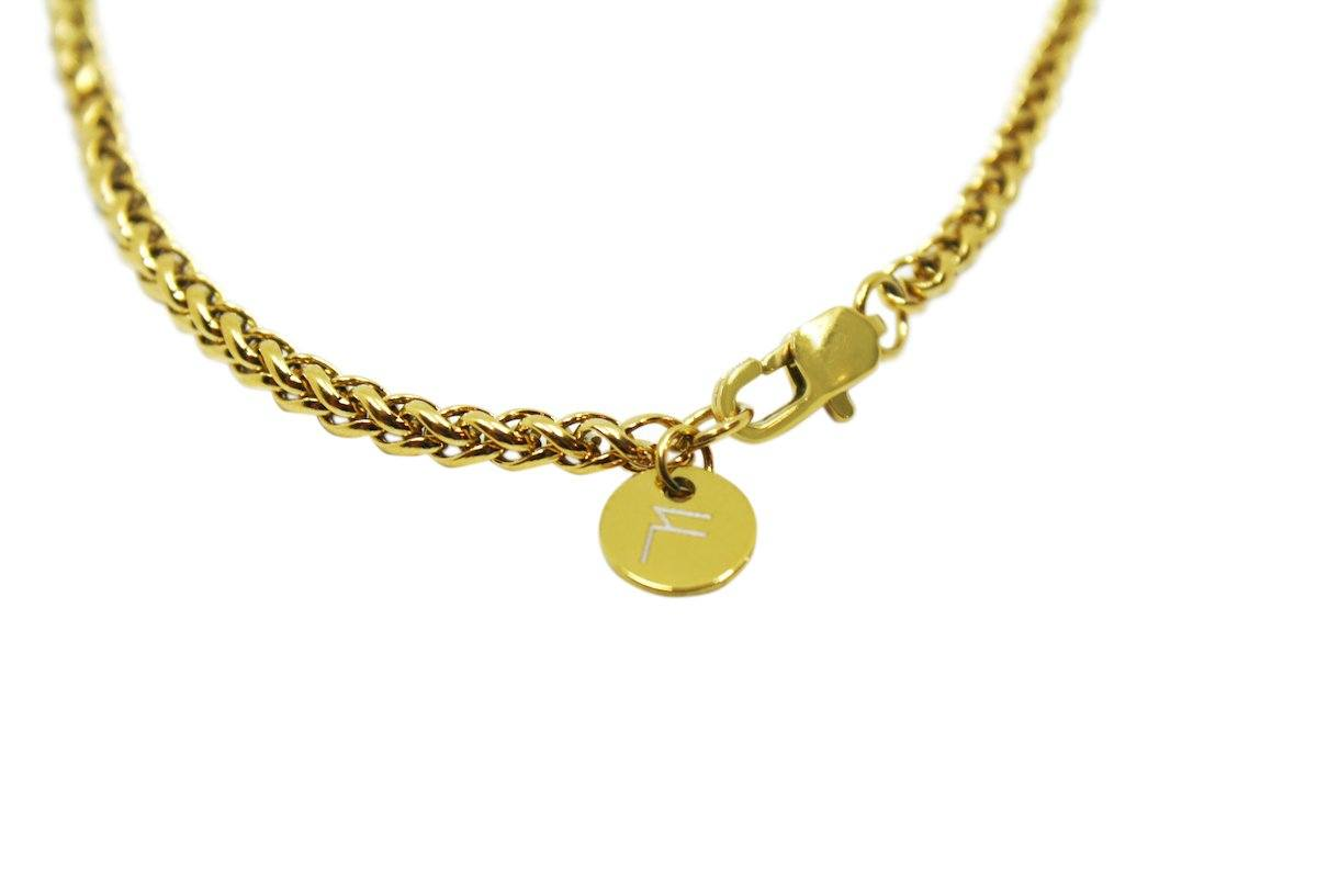 Pendant - Wheat Chain (Gold) 3mm