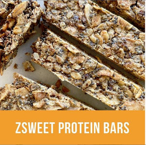 Zsweet Grain free, Dairy Free, Sugar Free & Low Carb Protein Bars