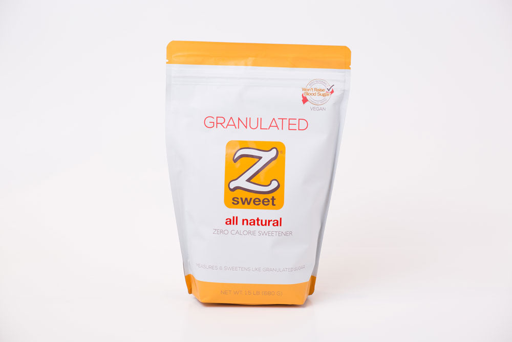 Zsweet® All-Natural Granulated Sweetener - 1.5lb Pouch