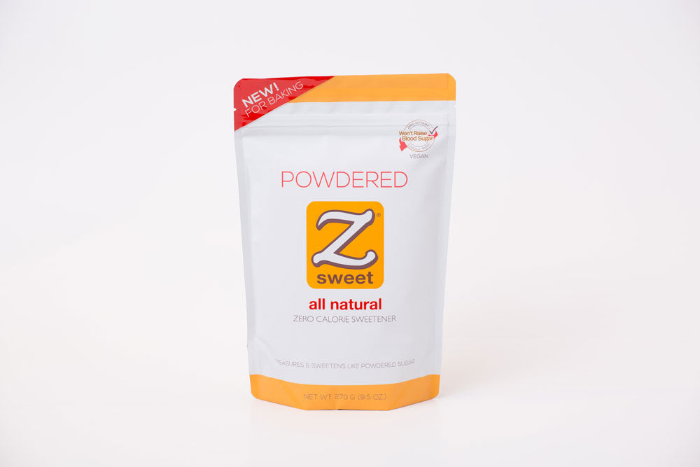 Zsweet® All-Natural Powdered Sugar Substitute - 270g Pouch (Pack of 2)