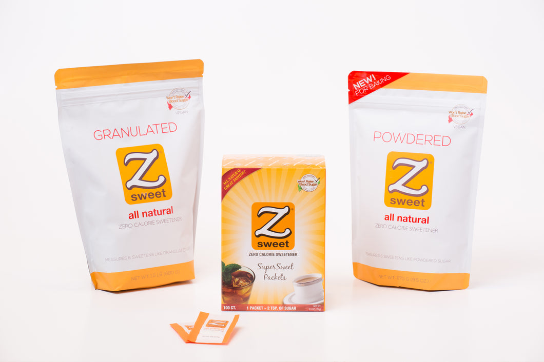 Zsweet® All-Natural Sample Pack