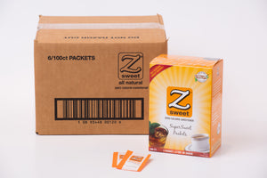 Zsweet® All-Natural SuperSweet Packets Case (6 Boxes)