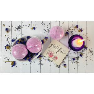 Rest Up Lavender Bath Bomb - April Etoye