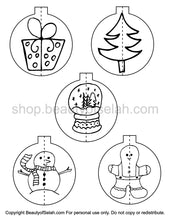 Load image into Gallery viewer, DIY 3D Christmas Coloring Ornaments