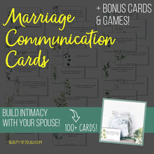 Load image into Gallery viewer, Marriage Communication Cards