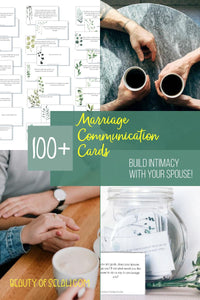 Marriage Communication Cards