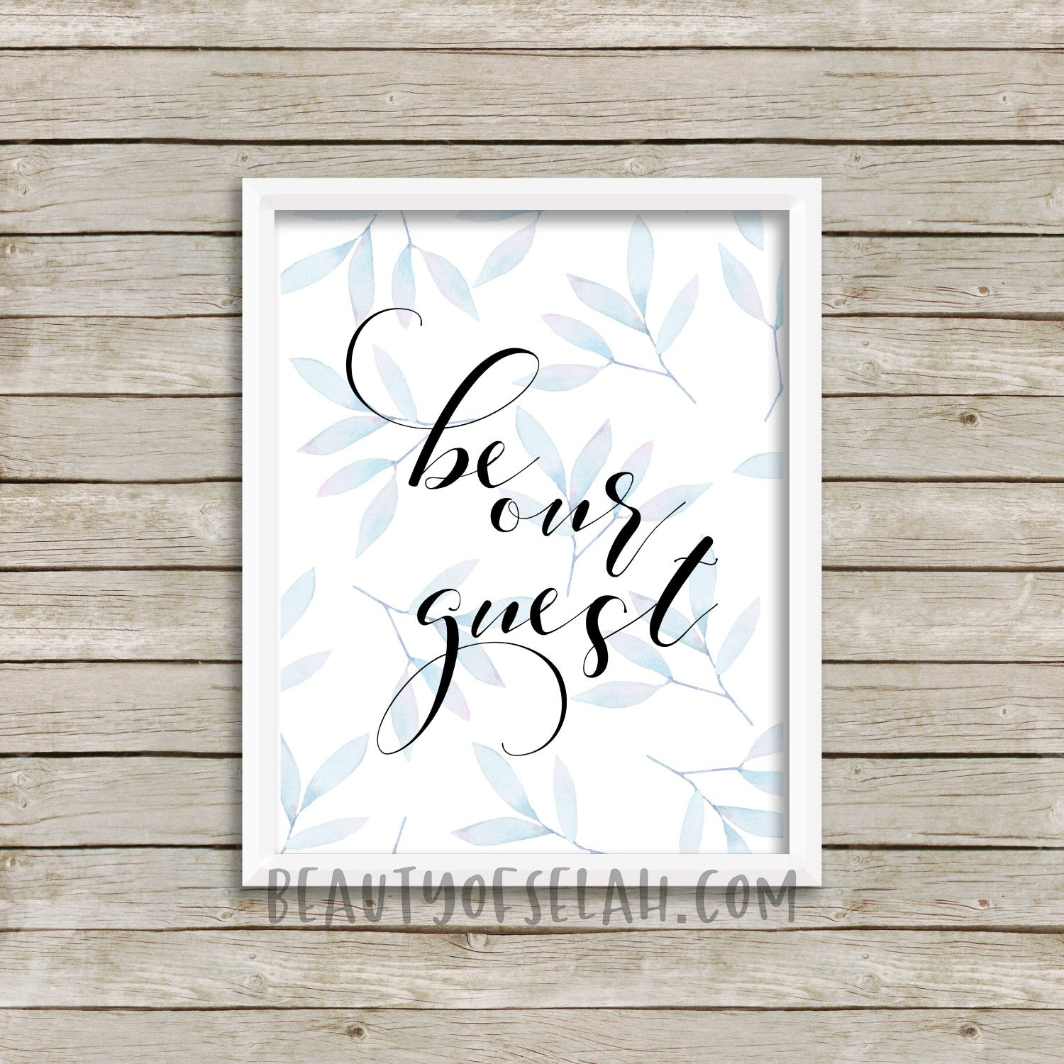 graphic regarding Be Our Guest Printable identified as Be our visitor Print