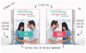 5 Day Marriage Revival Course His & Her Workbooks