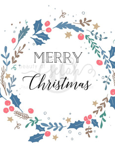 Merry Christmas Print Printables