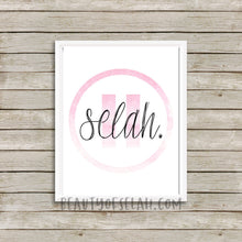 Load image into Gallery viewer, Selah Printable