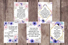 Load image into Gallery viewer, 15 Printable Anxiety Scripture Cards