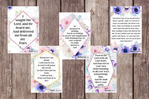 15 Printable Anxiety Scripture Cards