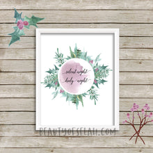 Load image into Gallery viewer, Silent night printable