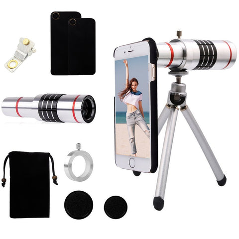 Image of 4 in 1 Cellphone Camera Lens Kit