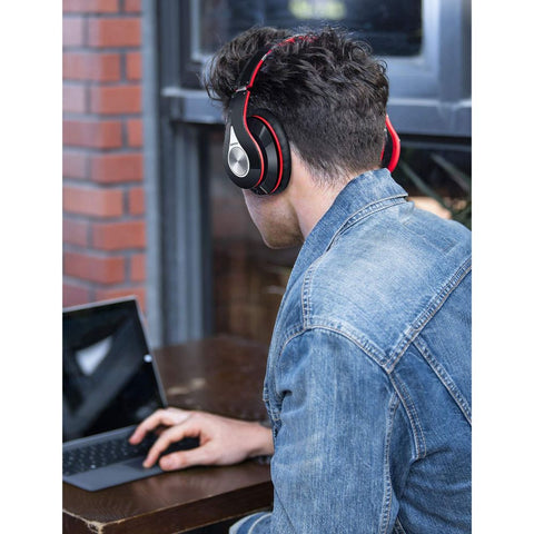 Image of Bluetooth Headphones Over Ear, Hi-Fi Stereo Wireless Headphone