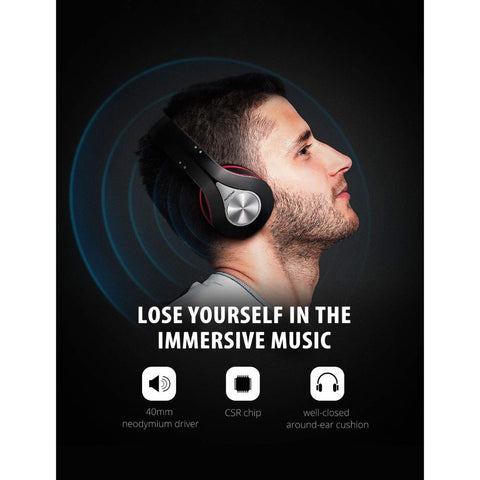 Bluetooth Headphones Over Ear, Hi-Fi Stereo Wireless Headphone