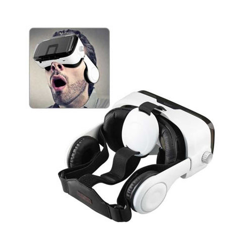 3d Virtual Reality Box (vr Box) Glasses For 3.5 To 6 Inch Phones With Blutooth Control In Black