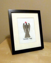 Load image into Gallery viewer, Doctor Who cross stitch pattern Christmas Weeping Angel