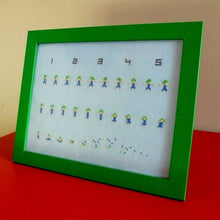 Load image into Gallery viewer, Exploding Lemmings cross stitch pattern - Oh no!