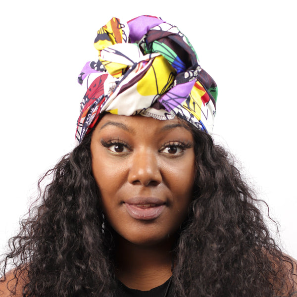 Brooklyn Daze Headwrap - Headwrap Only - hair accessories