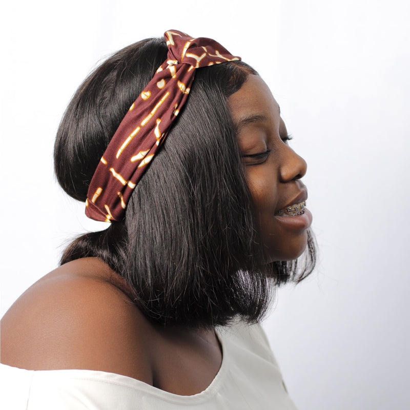 Brownie Delight Turban Headband - hair accessories